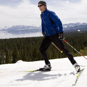 Kevin Murnane Skiing on Lakeview