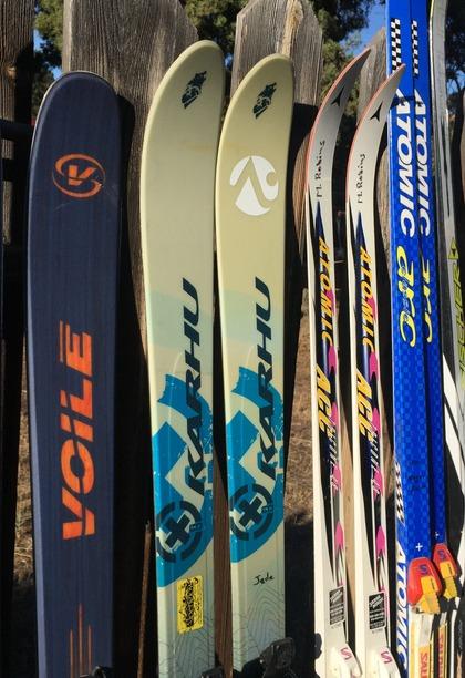 New and used telemark and Nordic skis