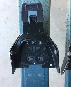3-pin or 75mm Bindings